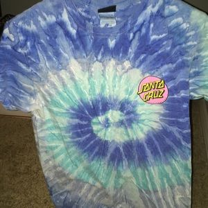 Other - Tye dye Santa Cruz shirt